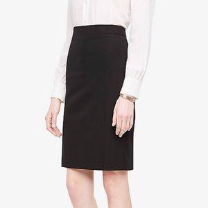Ann Taylor Seamed Pencil Skirt